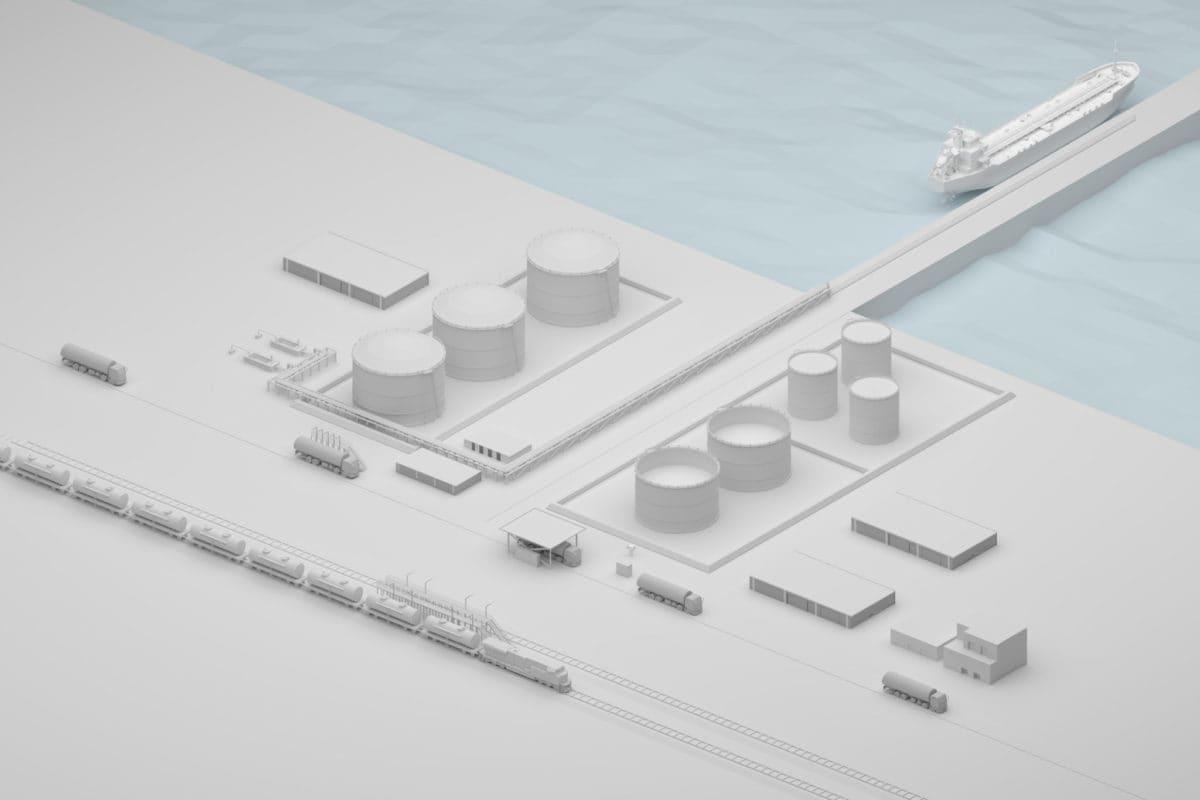 OIL and Gas render ostat statek 1200x800